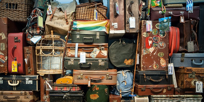 Group travel baggage