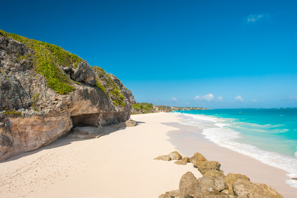 Barbados Sandy Beach Carribean