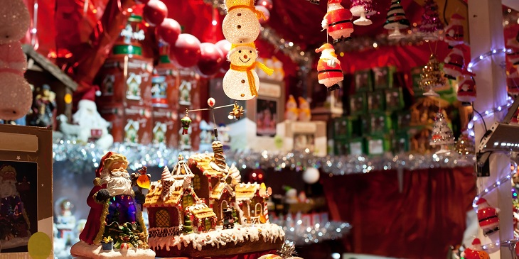 Visit Christmas markets in Gemrany, Austria or France as part of a festive cruise