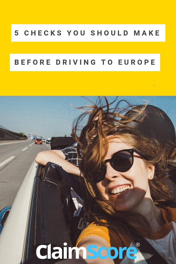 5 key points to check before driving to Europe