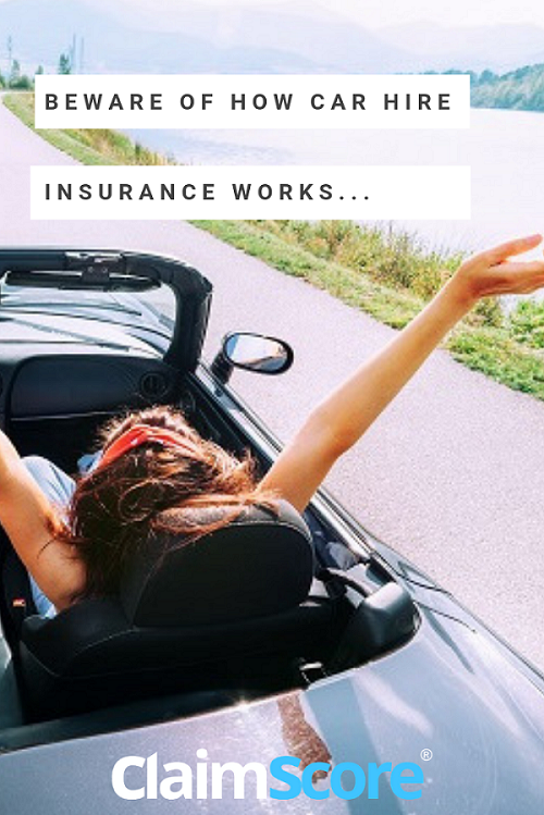 Understand how car hire insurance works