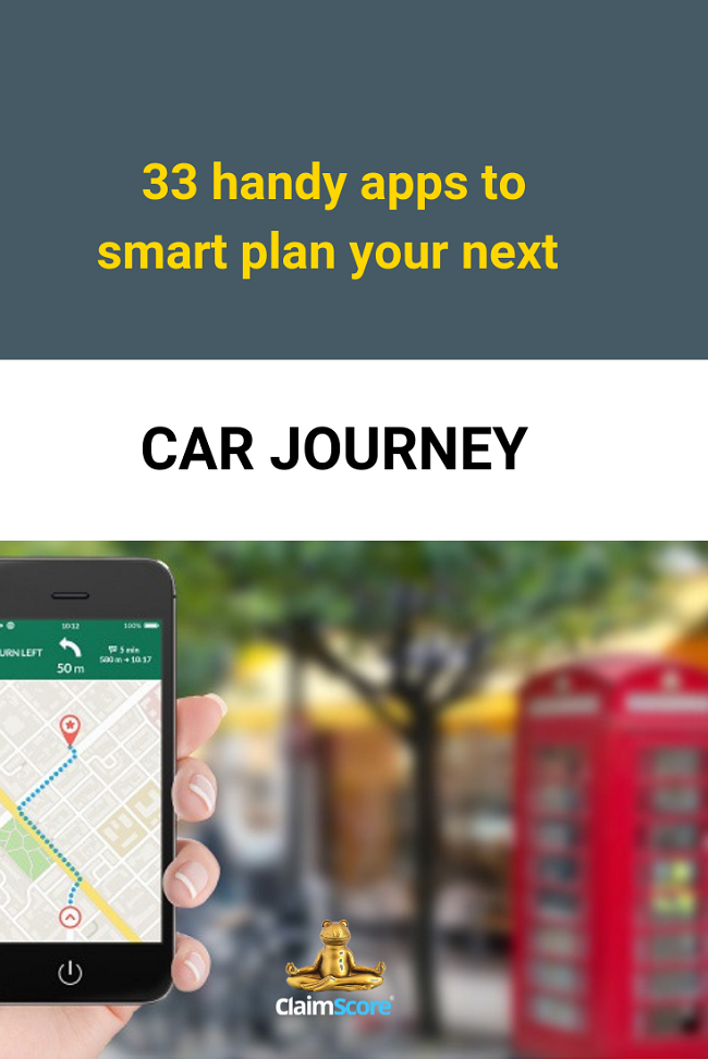 best apps to plan a long car journey and find car parks UK