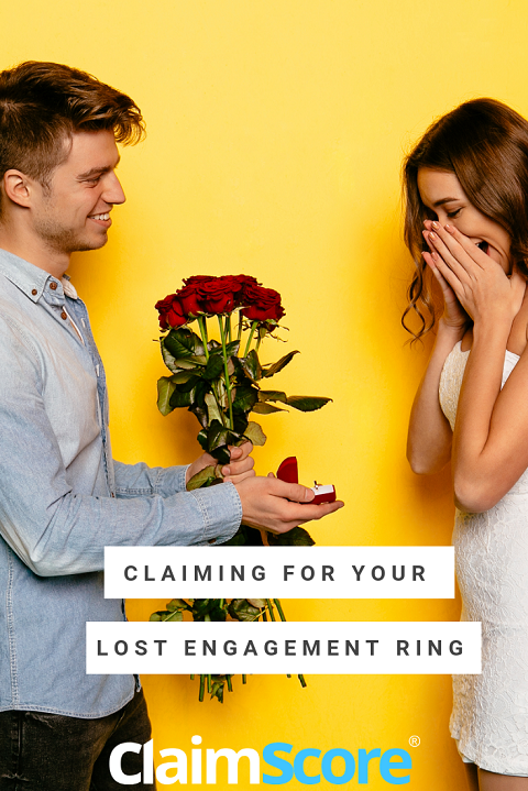 Claiming on insurance for a lost engagement or wedding ring