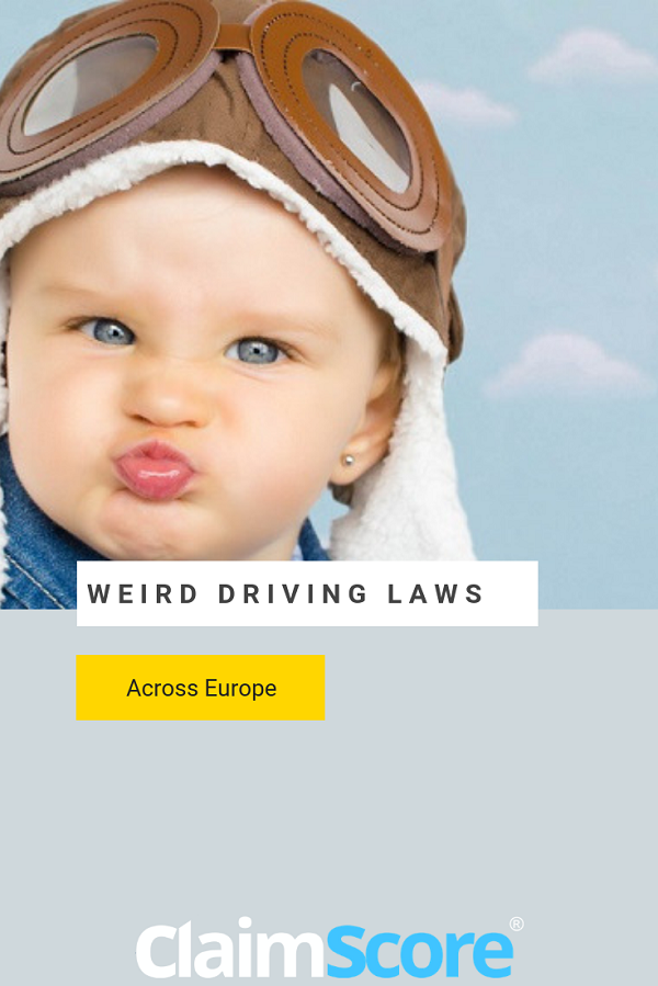 weird laws around driving in Europe