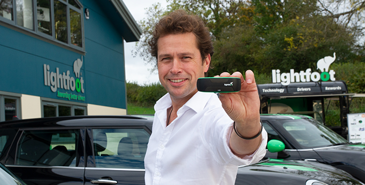 Lightfoot can help improve your driving and car engine efficiency