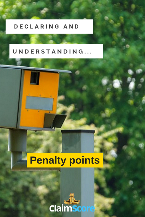 quick guide to declaring penalty points