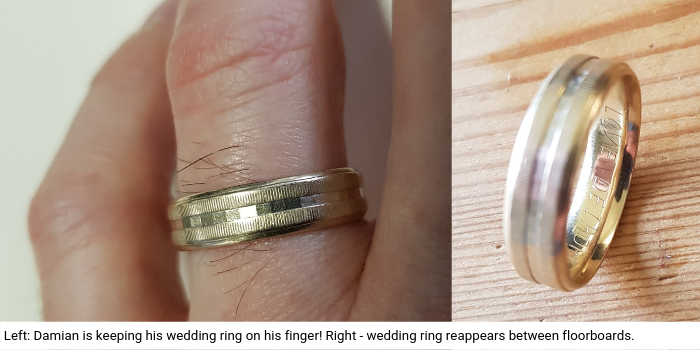 Lost engagement or wedding ring - 43 places where to look -ClaimScore