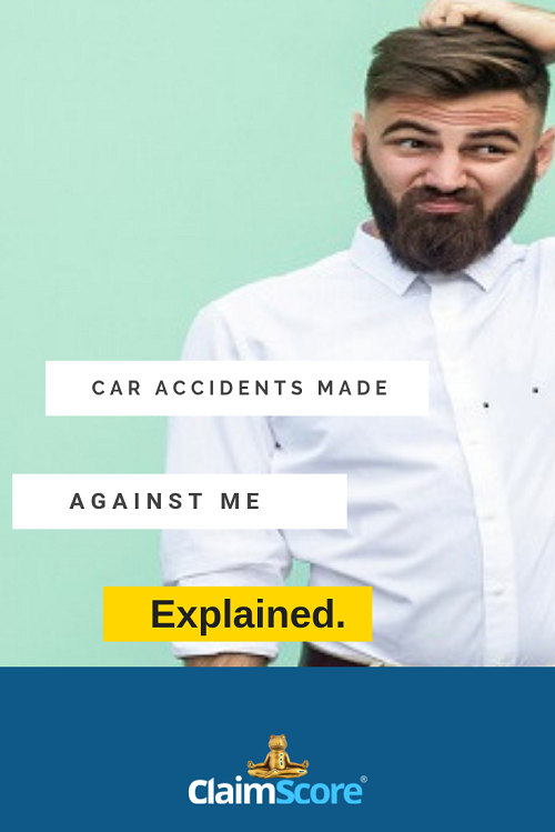 car accident made against me explained