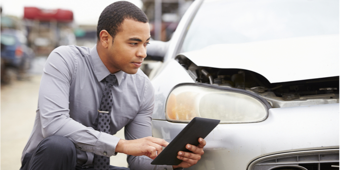 How is an insurance write off calculated?